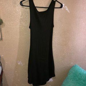 Forever 21 dark green dress